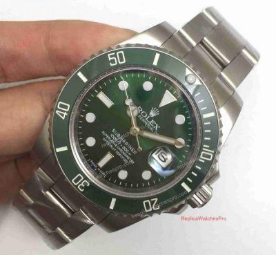 Rolex Submariner Replica Hulk Mens Watch - Green Face Green
